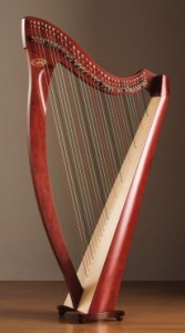 Salvi Prima Lever Harp