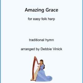 Amazing Grace- easy folk harp