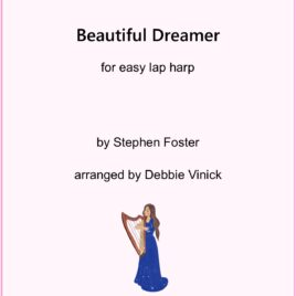 Beautiful Dreamer- easy lap harp